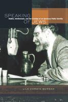 Speaking of Jews