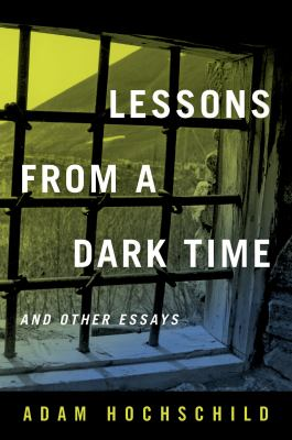 Lessons From a Dark Time and Other Essays(book-cover)