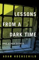 Lessons From A Dark Time