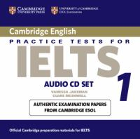 Cambridge Practice Tests for IELTS