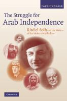 The Struggle for Arab Independence