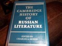 The Cambridge History of Russian Literature