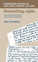 Storytelling Rights