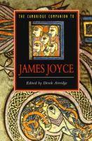 The Cambridge Companion to James Joyce