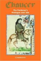 The Pardoner's Prologue & Tale From the Canterbury Tales