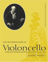 One Hundred Years of Violoncello