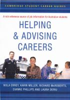Helping and Advising Careers