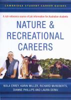 Nature and Recreational Careers