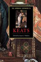 The Cambridge Companion to John Keats