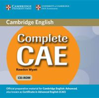 Complete CAE Student's Book Wiith Answers