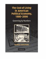 The Cost of Living in America