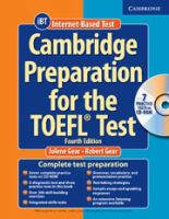 Cambridge Preparation for the TOEFL Test [includes CD and CD-ROM]