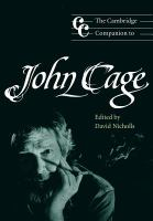 The Cambridge Companion to John Cage