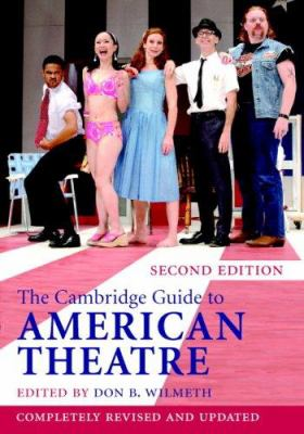 """Picture of the book cover for """"The Cambridge Guide to American Theatre"""""""