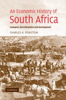 An Economic History of South Africa