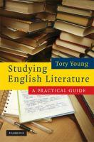 Studying English Literature
