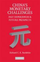 China's Monetary Challenges