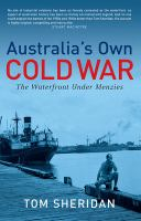 Australia's Own Cold War