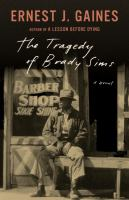 Cover of The tragedy of Brady Sims