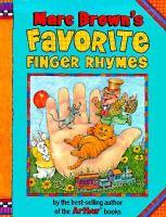 Marc Brown's Favorite Finger Rhymes