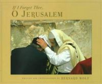 If I Forget Thee, O Jerusalem