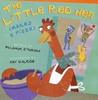 Little Red Hen Makes a Pizza Book Cover