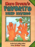 Marc Brown's Favorite Hand Rhymes