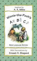 Winnie-the-Pooh's ABC Sign Language Edition