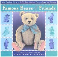 Famous Bears and Friends