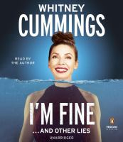 I'M FINE--AND OTHER LIES [audiobook Cd]