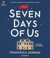 SEVEN DAYS OF US [audiobook Cd]