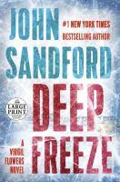 Deep Freeze (Large Print)
