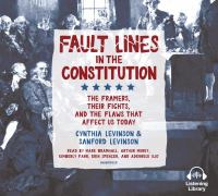 Fault Lines in the Constitution (CD)