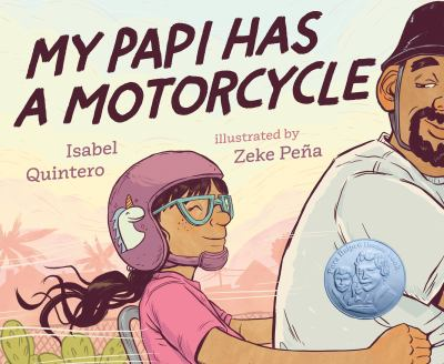 My Papi Has a Motorcycle(book-cover)