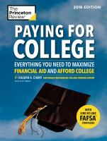 Cover of Paying for College