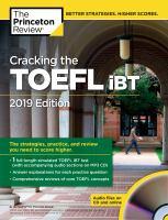Cracking the TOEFL® IBT 2019