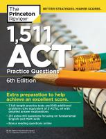 1,511 ACT Practice Questions