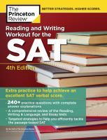 Reading & Writing Workout for the SAT