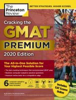 Cracking the GMAT