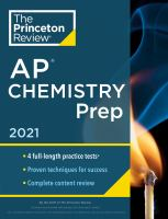 AP Chemistry Prep