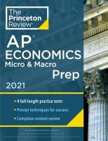 AP Economics Micro & Macro Prep