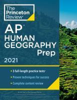 AP Human Geography Prep