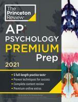 AP Psychology Premium Prep