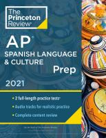 AP Spanish Language & Culture Prep