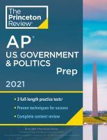 AP U.S. Government & Politics Prep