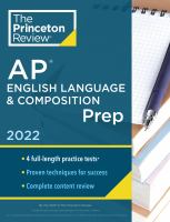 AP English Language and Composition Exam Prep