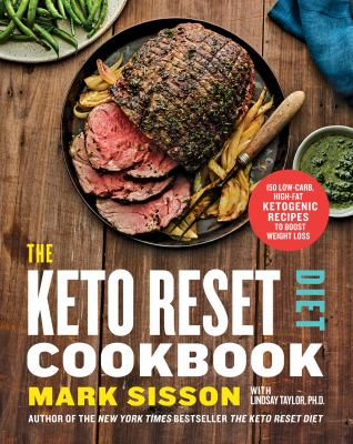 The Keto Reset Diet Cookbook: 150 Low-Carb, High-Fat Ketogenic Recipes to Boost Weight Loss(book-cover)