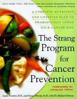 The Strang Cookbook For Cancer Prevention
