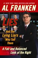Lies (and the Lying Liars Who Tell Them)