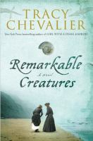 Remarkable Creatures, by Tracy Chevalier